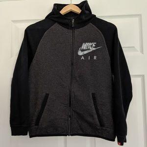 Nike Air Full Zip Athletic Fleece Hoodie Large